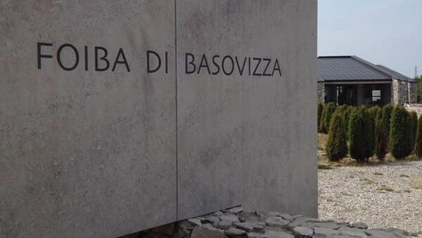Sacrario della Foiba di Basovizza - Sputnik Italia