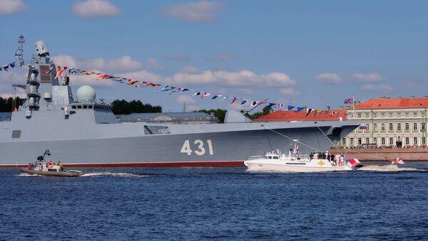 Fregata Ammiraglio Kasatonov 22350 - Sputnik Italia