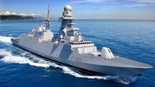 Fregata Fremm Bergamini  - Sputnik Italia