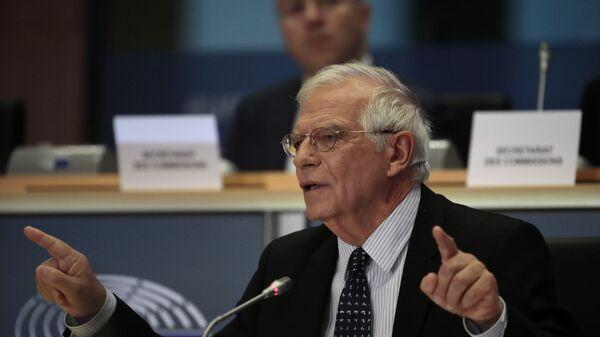 L'alto rappresentante per la politica estera e sicurezza dell'UE Josep Borrell  - Sputnik Italia