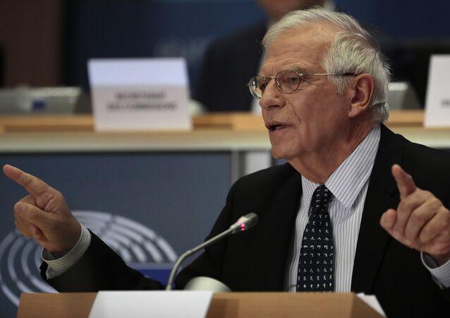 L'alto rappresentante per la politica estera e sicurezza dell'UE Josep Borrell