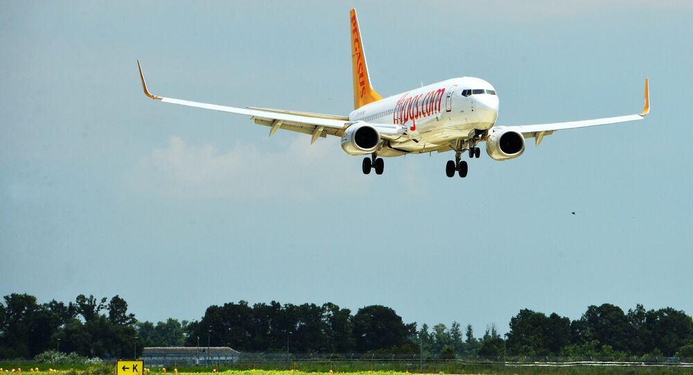 Un aereo Pegasus Airlines