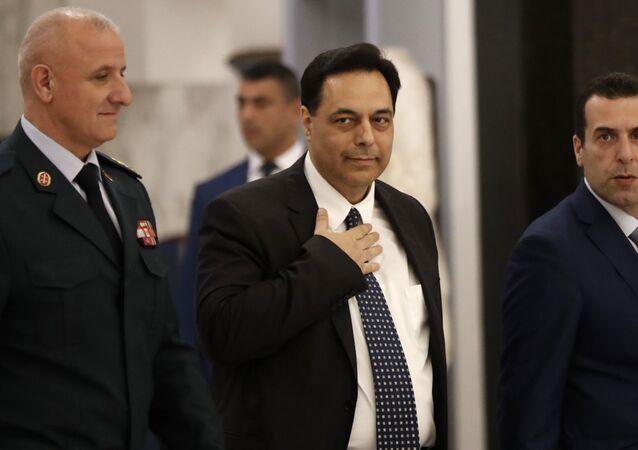 Il nuovo primo ministro libanese Hassan Diab
