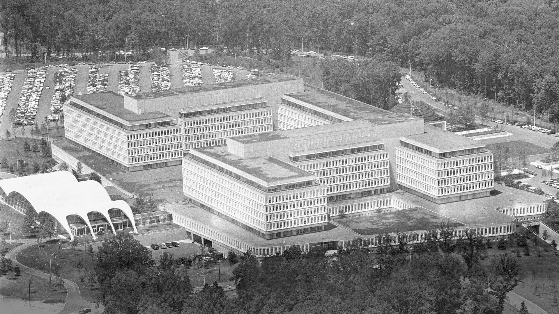 This is a general view of the new headquarters of the Central Intelligence Agency, CIA, at Langley, Virginia, on July 10, 1962. - Sputnik Italia, 1920, 10.08.2021