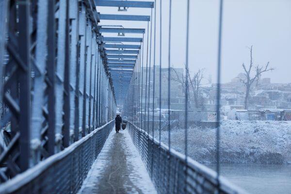 Il Ponte vecchio a Mosul, Iraq - Sputnik Italia
