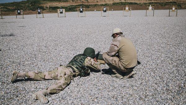 Addestramento Nato a soldato iracheno (foto d'archivio) - Sputnik Italia