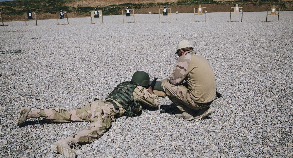 Esercitazione ad Irbil, Iraq