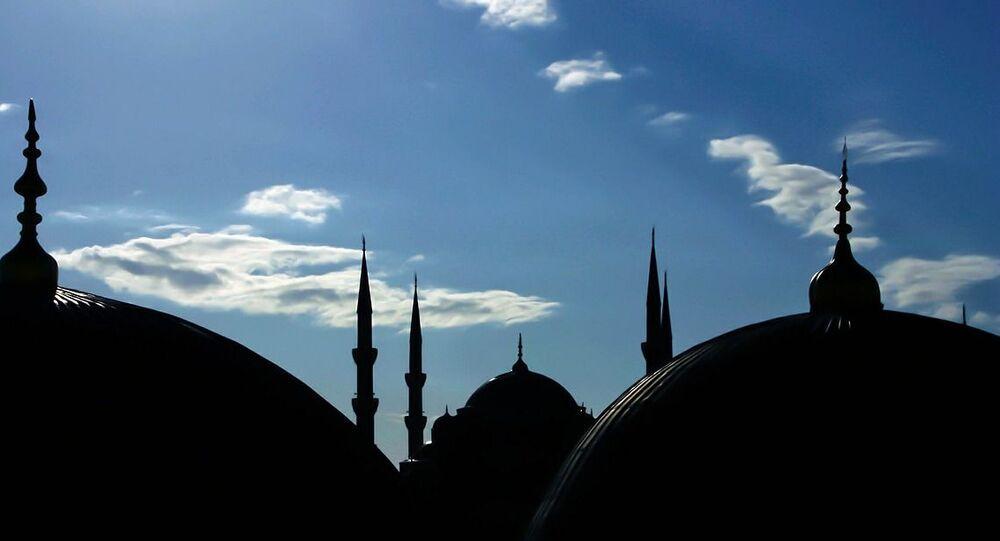 Una moschea