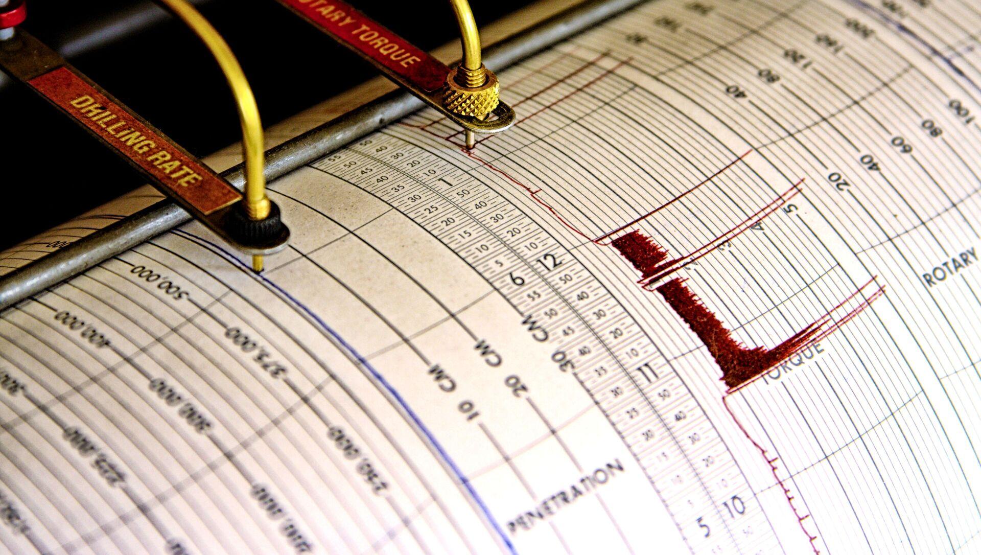 Sismografo di terremoto - Sputnik Italia, 1920, 10.04.2021
