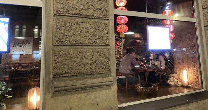 I ristoranti e i negozi cinesi a Mosca, Russia
