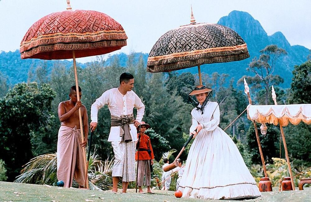 Jodie Foster e Chow Yun‑fat nel film Anna and the King, 1999