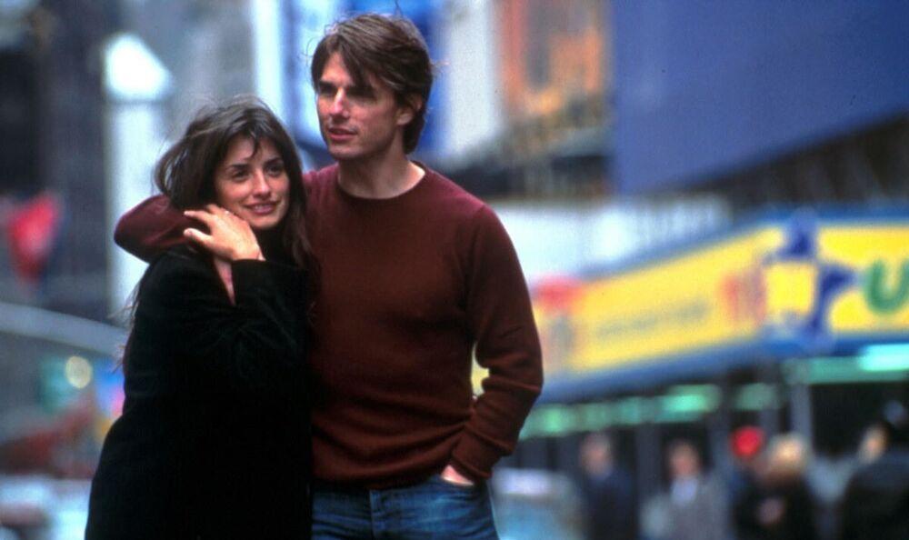 Penélope Cruz e Tom Cruise nel film Vanilla Sky, 2001