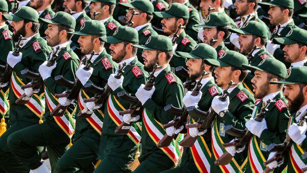 Parata dei pasdaran a Teheran (foto d'archivio) - Sputnik Italia