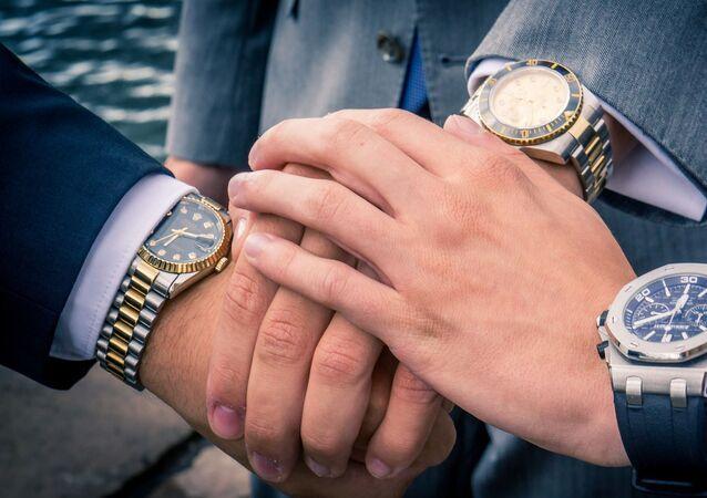 Uomini in Rolex