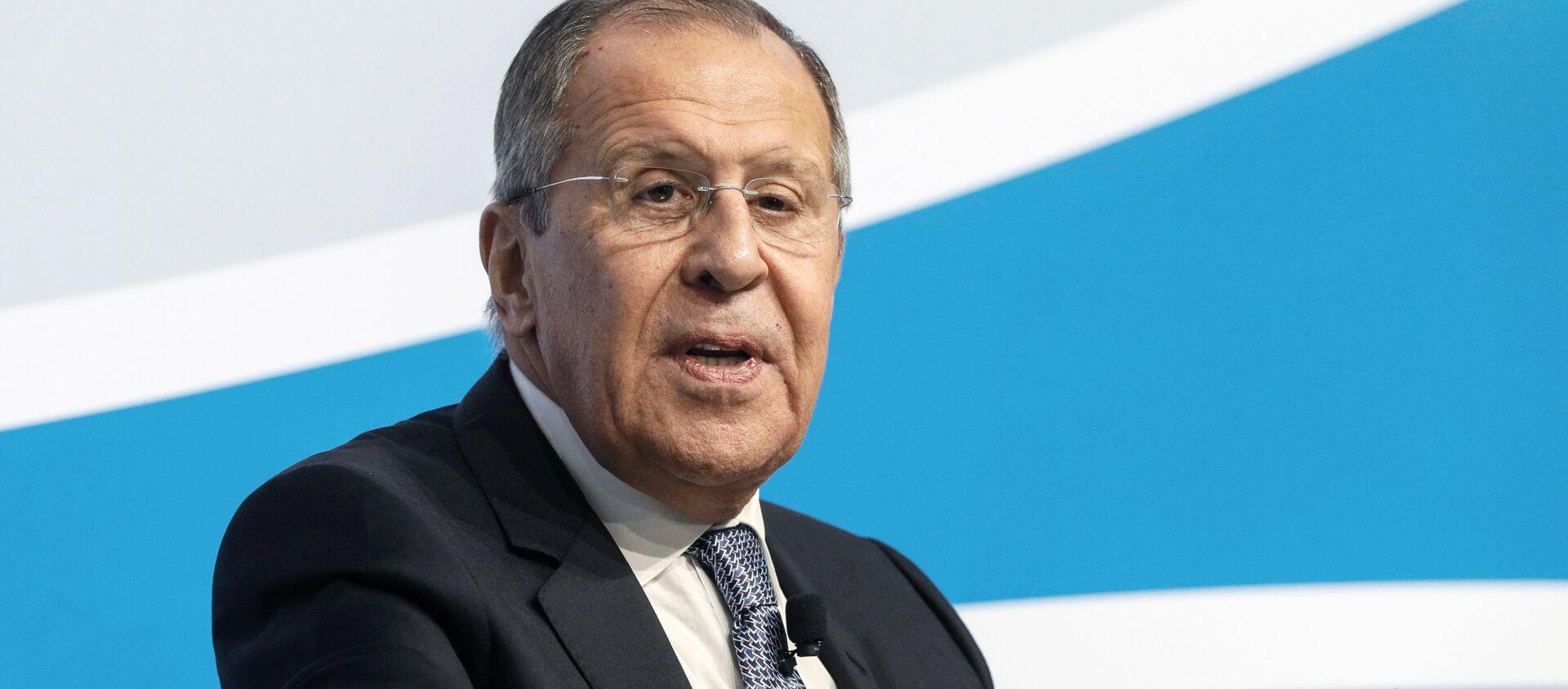 Russian Foreign Minister Sergei Lavrov - Sputnik Italia, 1920, 02.03.2021