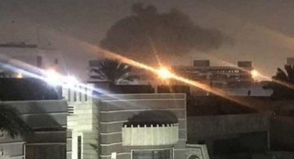 Missili colpiscono vicino l'ambasciata americana in Iraq, 16 febbraio 2020