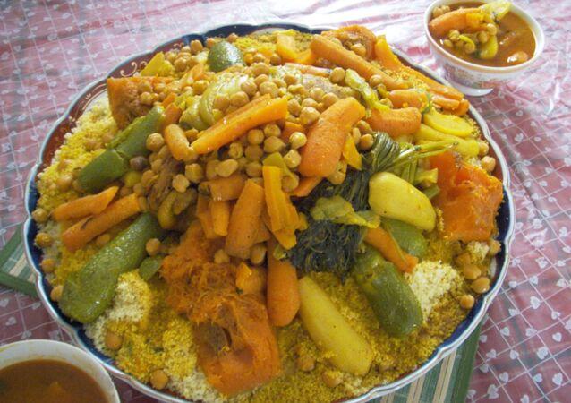 piatto di cous cous