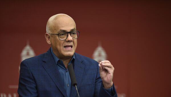Jorge Rodríguez, ministro della Comunicazione e Informazione del Venezuela - Sputnik Italia