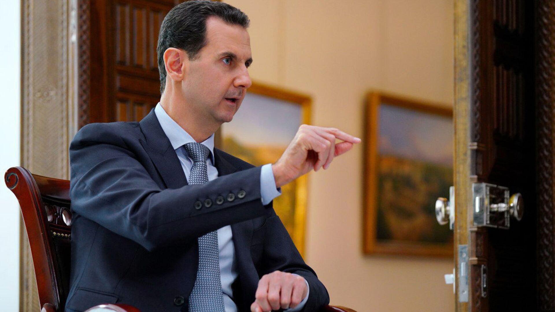 Il presidente siriano Basah al-Assad - Sputnik Italia, 1920, 03.06.2021