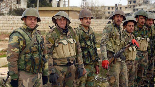 Militari dell'esercito siriano - Sputnik Italia
