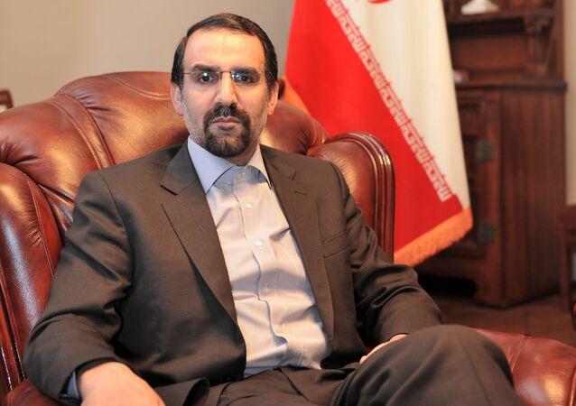 L'ex ambasciatore iraniano a Mosca, Mehdi Sanaei