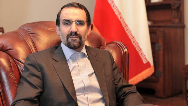 L'ex ambasciatore iraniano a Mosca, Mehdi Sanaei - Sputnik Italia