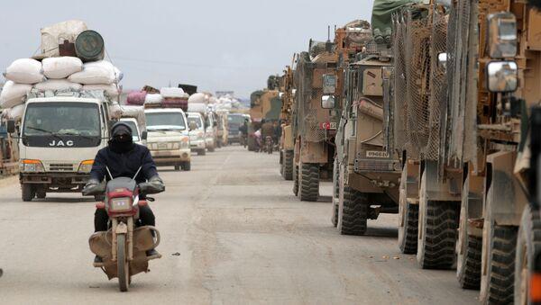 Equipaggiamento militare turco in Siria - Sputnik Italia