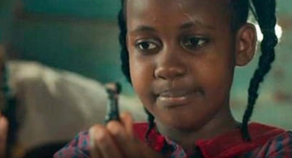 L'attrice ugandese Nikita Pearl Waligwa