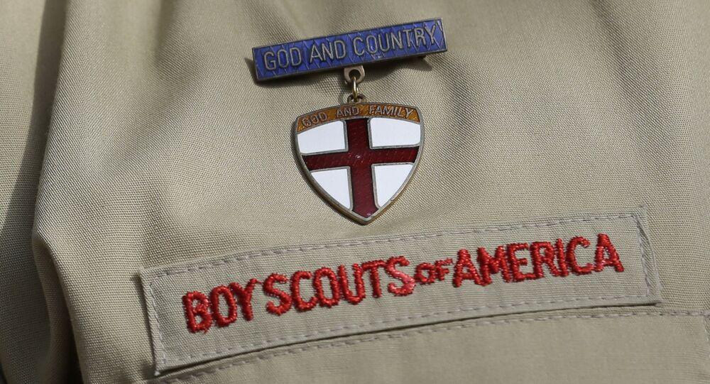 Una divisa dei Boy Scouts of America
