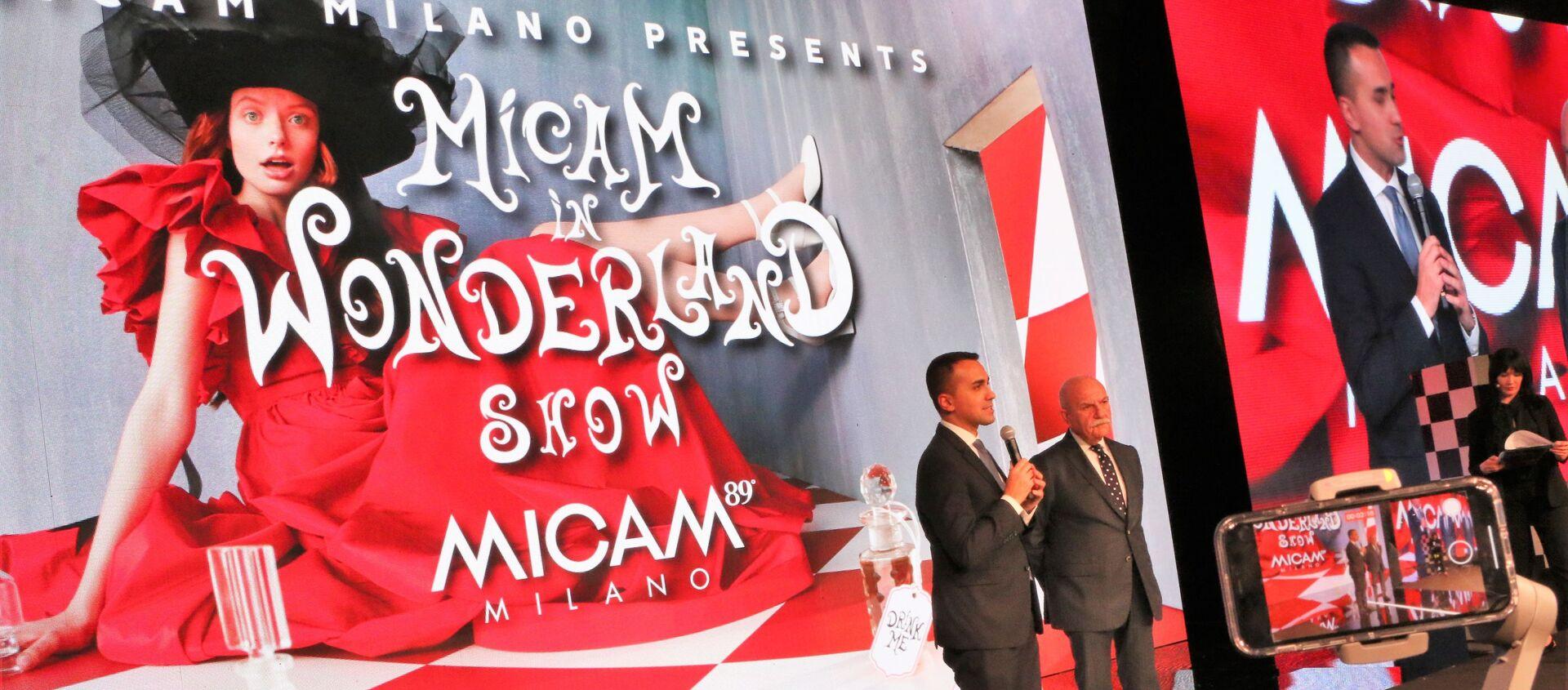 Show MICAM in Wonderland - Sputnik Italia, 1920, 18.02.2020