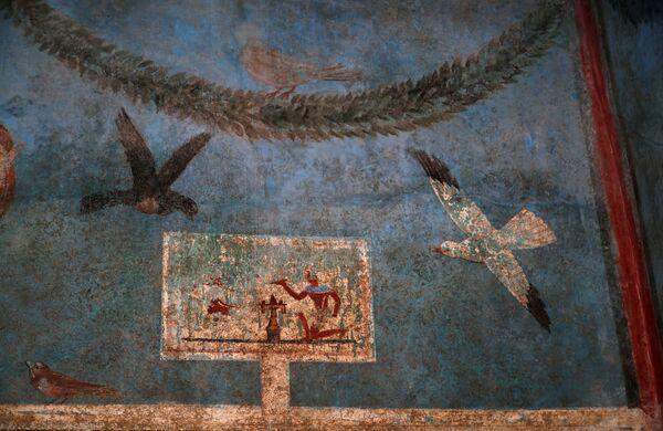 Un affresco nella Casa del Frutteto a Pompei. - Sputnik Italia