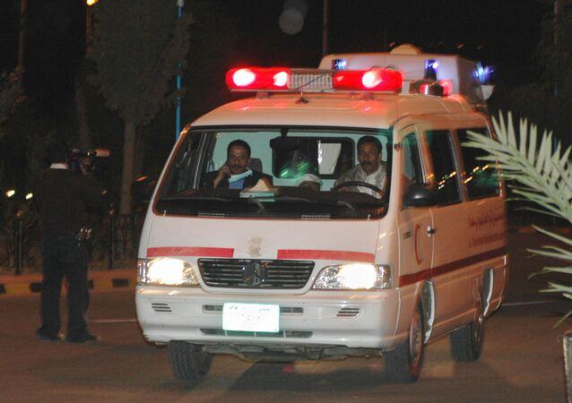 Ambulanza yemenita