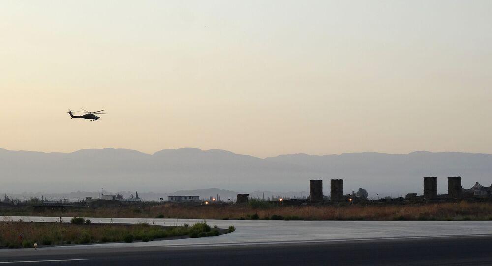 Base russa Hmeimim in Siria