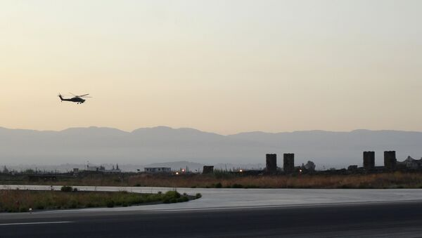 Base russa Hmeimim in Siria - Sputnik Italia