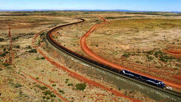 Treno in Australia - Sputnik Italia
