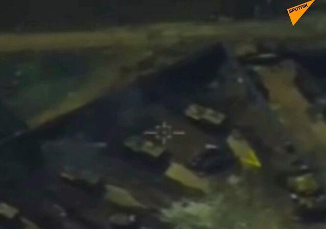 Militari russi pubblicano video su come la Turchia aiuta i ribelli in Siria