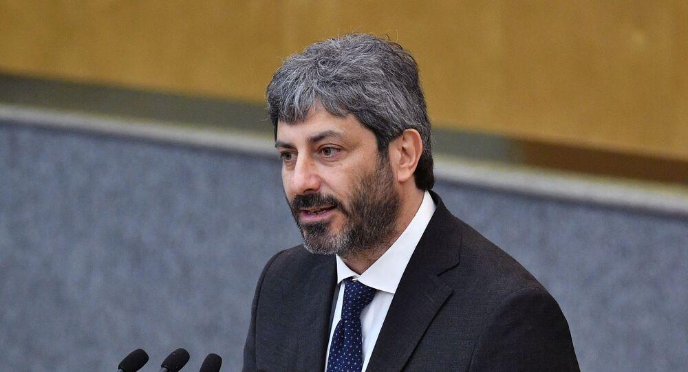 Roberto Fico (foto d'archivio)