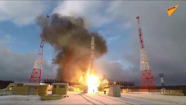 Il primo lancio del razzo Soyuz-2 nel 2020 - Sputnik Italia