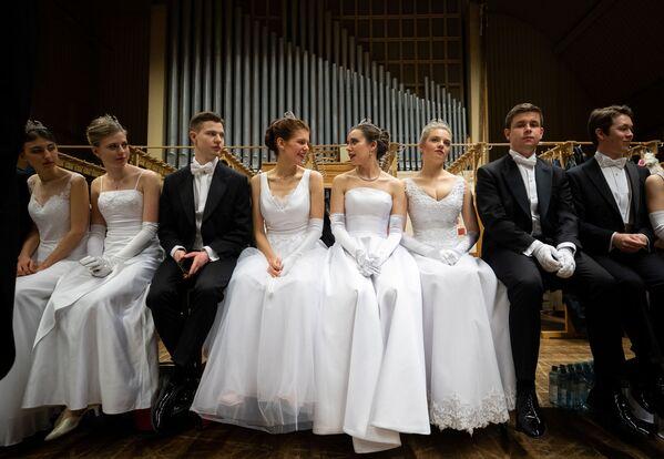 Il ballo delle Debuttanti dell'Opera di Vienna 2020 - Sputnik Italia