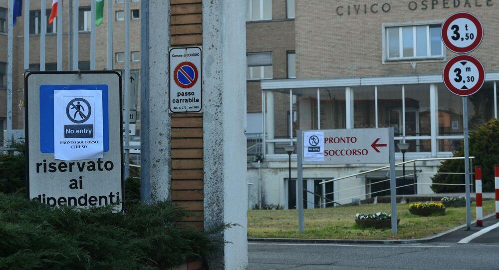 L'ospedale di Codogno