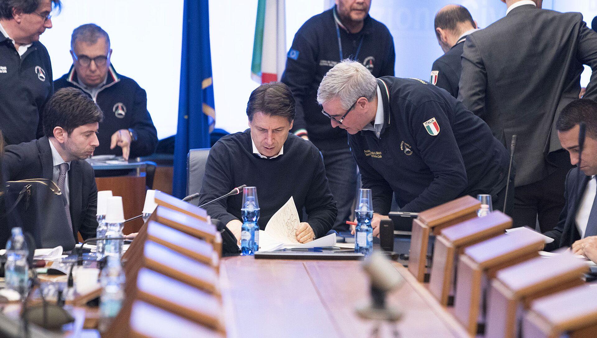 Draghi nomina Fabrizio Curcio come nuovo capo del Dipartimento di Protezione Civile - Sputnik Italia, 1920, 26.02.2021