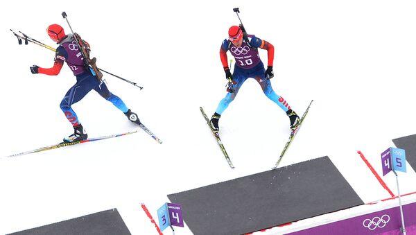 Alexander Loginov and Evgeniy Garanichev - Sputnik Italia