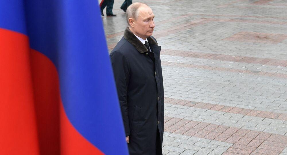 Putin alla Tomba del Milite Ignoto