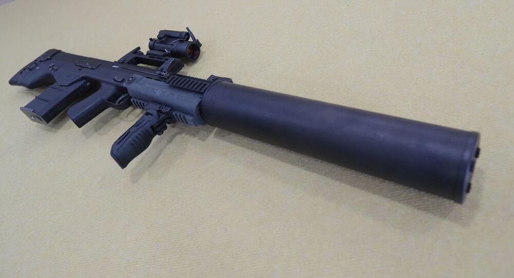 Il fucile d'assalto russo ASh-12