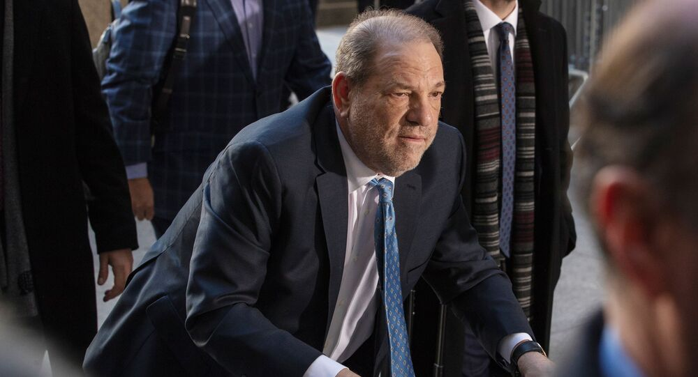 Harvey Weinstein al suo arrivo a New York per affrontare il processo in cui è accusato di violenza sessuale