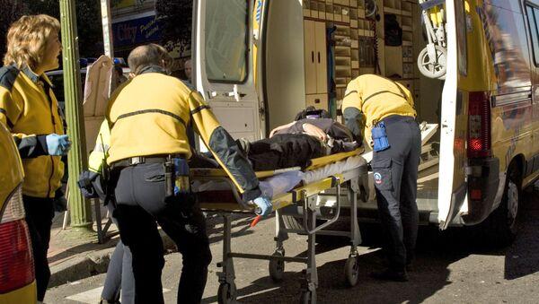 Ambulanza spagnola - Sputnik Italia