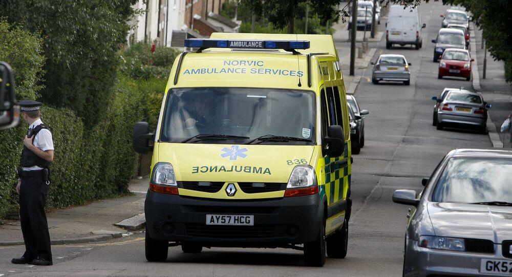 Ambulanza Regno Unito