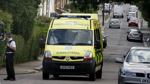 Ambulanza Regno Unito - Sputnik Italia
