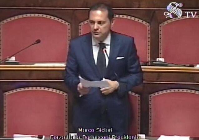 Marco Siclari, senatore della Repubblica Italiana