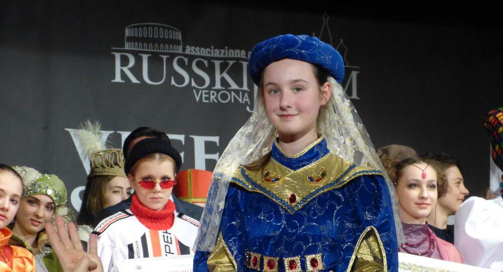 Festival del costume russo a Verona